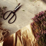 Blumenfloristen-Flower Adorable Style-Blumenstrauß-Blüten-Konzept Lizenzfreie Stockbilder