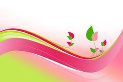 Blumenfrühlingshintergrund Lizenzfreies Stockbild