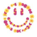 Blumenfreude Stockbild