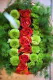 Blumengeliebte und -Valentinsgruß Lizenzfreie Stockfotografie