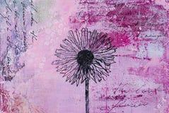 Blumengestaltungsarbeit Stockbild