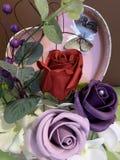 Blumengestecke für alle Feiern stockfoto