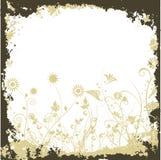 BlumenGrunge Lizenzfreies Stockbild