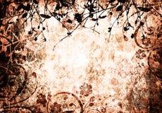 Blumengrunge Stockbild