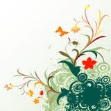 Blumengrunge Auslegung stock abbildung