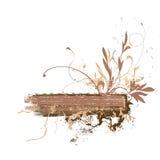 Blumengrunge Auslegung Stockfoto