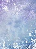 BlumenGrunge Hintergrund Stockfotos