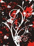 Blumengrunge Serie Stockbilder