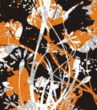 Blumengrunge Serie Lizenzfreies Stockfoto