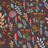 Blumengute Schwingungen der grußkarte mit buntem Stockbilder