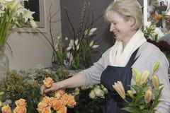 Blumenhändler Lizenzfreies Stockbild