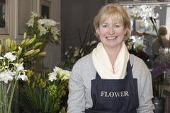 Blumenhändler Lizenzfreie Stockbilder