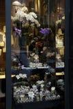 Blumenhändler-Fenster lizenzfreies stockbild