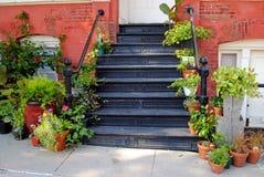Blumenhändler-System-Eintrag Stockfotos