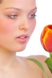 Blumenhaut. Stockfotografie
