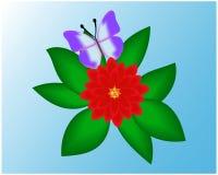 Blumenhintergrund. Stockfotografie