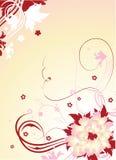Blumenhintergrund Stockfotografie