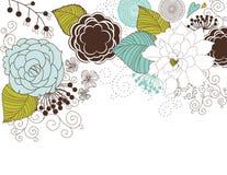 Blumenhintergrund Stockfotos