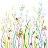 Blumenhintergrund Stockbild
