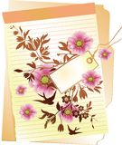 Blumenhintergrund Lizenzfreie Stockbilder