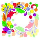 Blumenhintergrund (Abbildung) Lizenzfreie Stockfotografie