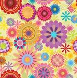 Blumenhintergrund Seamles Lizenzfreies Stockfoto