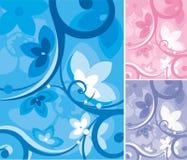 Blumenhintergrund-Serie Stockfotos