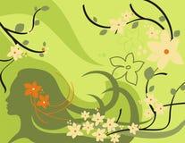 Blumenhintergrund-Serie Lizenzfreie Stockbilder