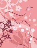 Blumenhintergrund-Serie Lizenzfreie Stockfotografie