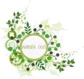 Blumenhintergrund - Vektor Lizenzfreies Stockfoto