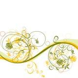 Blumenhintergrund, Vektor Lizenzfreie Stockfotografie