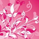 Blumenhintergrund, Vektor Stockfoto