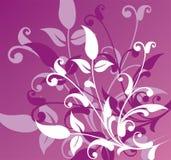 Blumenhintergrund, Vektor Lizenzfreies Stockfoto