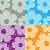 Blumenhintergrund vier Stockfotografie