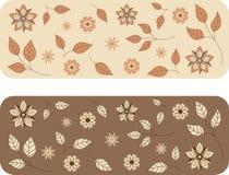 Blumenhintergrundmuster Lizenzfreies Stockfoto