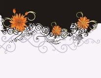 Blumenhintergrundserie Stockfotografie