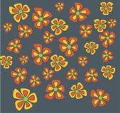 Blumenhintergrundvektor Stockfoto