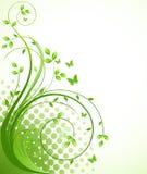 Blumenhintergrundvektor Lizenzfreie Stockfotos