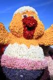 Blumenküken - Bloenecorso Parade Stockbilder