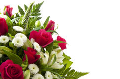 Blumenkarte stockbilder