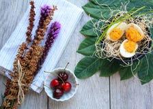 Blumenkirschen Russischer Eier stockfotografie