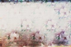 Blumenkonstellation lizenzfreie abbildung