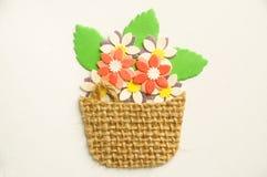 Blumenkorb Lizenzfreies Stockfoto