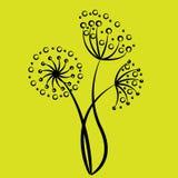 Blumenkunst Stockbild