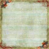 Blumenkunst-Einklebebuch-Hintergrund Lizenzfreies Stockfoto