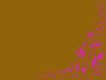 Blumenkunstauslegung Lizenzfreies Stockbild
