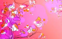 Blumenlicht stock abbildung