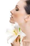 Blumenmädchen Lizenzfreie Stockbilder