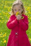 Blumenmädchen Lizenzfreie Stockfotografie