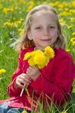 Blumenmädchen Stockfoto